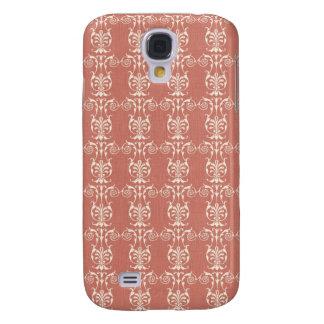 Art Nouveau Floral Galaxy S4 Cases
