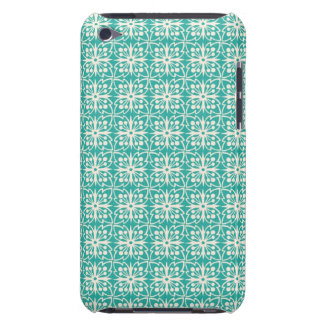 Art Nouveau Floral in Teal Barely There iPod Covers