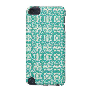 Art Nouveau Floral in Teal iPod Touch 5G Covers