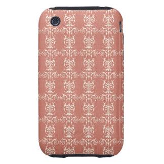 Art Nouveau Floral iPhone 3 Tough Cover