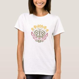 Art Nouveau Floral Tee Shirt