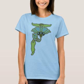 Art Nouveau Flower T-Shirt