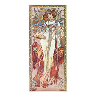 Art Nouveau Goddess Card