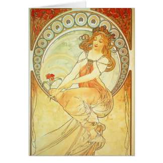 Art Nouveau Greeting Card