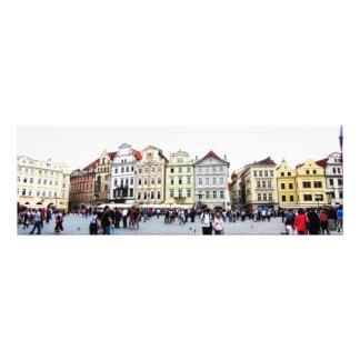 Art Nouveau in Old Town Square, Prague Photo Art