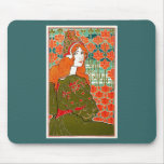 Art Nouveau ~ Jane by Louis John Rhead Mouse Pad