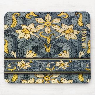 Art Nouveau 'Jonquils' Mousemat