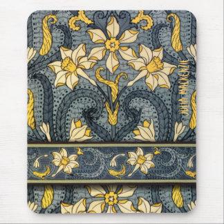 Art Nouveau 'Jonquils' Mouse Pad