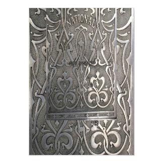 Art nouveau,jugen style,Norway,aalesund,original,m Magnetic Invitations