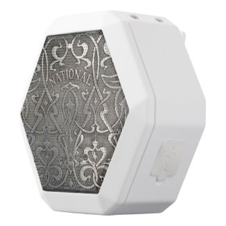 Art nouveau,jugen style,Norway,aalesund,original,m White Bluetooth Speaker