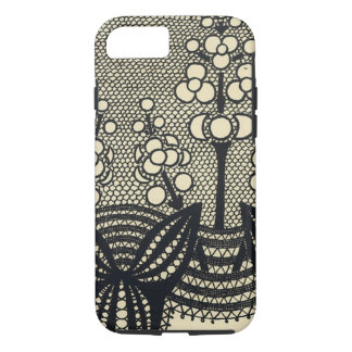 Art Nouveau Lace Floral iPhone 8/7 Case