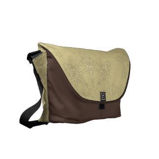 Art Nouveau Lace Messenger Bag