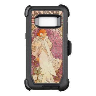 Art Nouveau Lady Defender Samsung Galaxy S8 Case