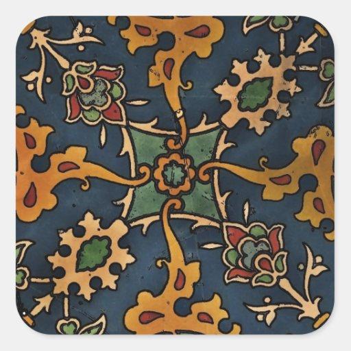 Art Nouveau l'Art Arabic Sticker