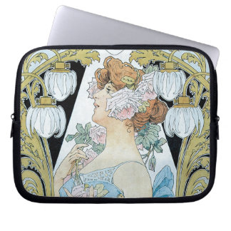 Art Nouveau - Le Bec Liais Laptop Sleeve
