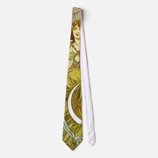 Art Nouveau Liqueur Ad 1901 Tie
