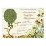 Art Nouveau Love Bird Rustic Tree Wedding