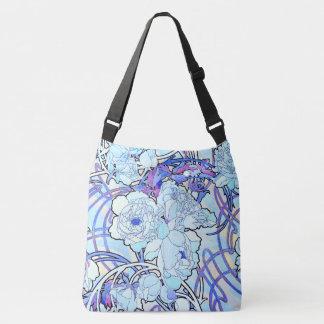 Art Nouveau Mucha Peony Flowers Tote Bag
