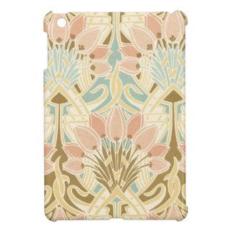 art nouveau nature floral pattern art iPad mini covers