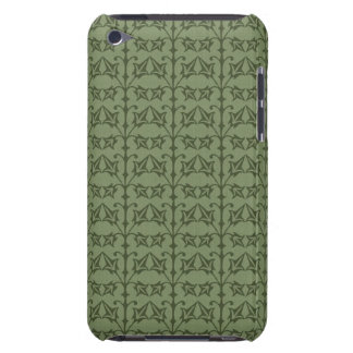 Art Nouveau Nature Themed Leaves Barely There iPod Cases
