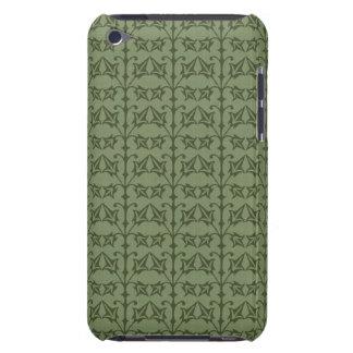 Art Nouveau Nature Themed Leaves iPod Case-Mate Case