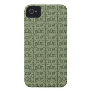 Art Nouveau Nature Themed Leaves Case-Mate iPhone 4 Cases