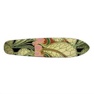 Art Nouveau pattern #1 Custom Skate Board