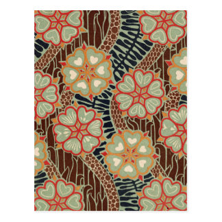 Art Nouveau Pattern #2 at Emporio Moffa Postcard