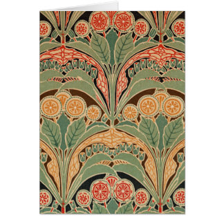 Art Nouveau Pattern #3 at Emporio Moffa Card