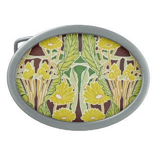Art Nouveau Pattern #7 at Emporio Moffa Belt Buckles