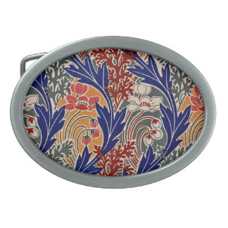 Art Nouveau Pattern #8 at Emporio Moffa Oval Belt Buckles