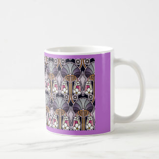 Art Nouveau Pattern Coffee Mug