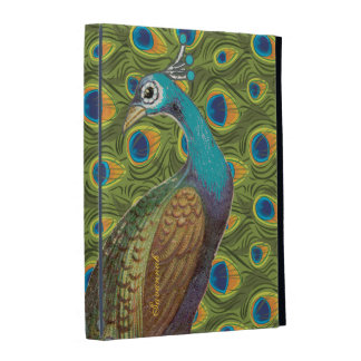 Art Nouveau Peacock iPad Case