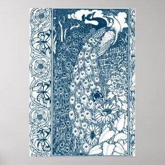 Art Nouveau posters from Zazzle