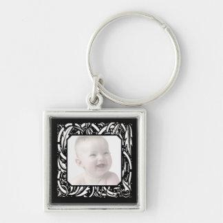 Art Nouveau Photo Key Chain