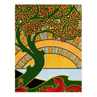 Art Nouveau Postcard: La Libre Esthétique Postcard