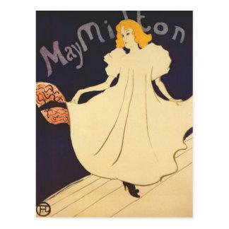 Art Nouveau Postcard - May Milton