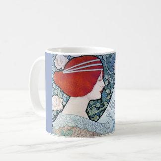 Art Nouveau Poster Design Mug