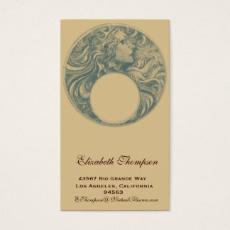 Art Nouveau Queen Business or Name Card