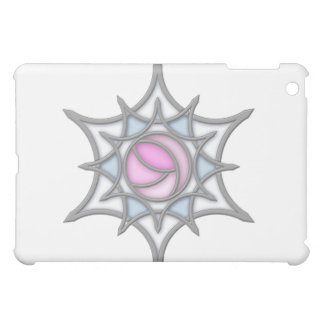 Art Nouveau Rose in a Snowflake iPad Cases