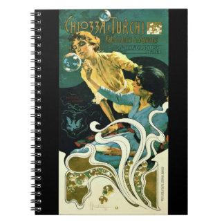 Art Nouveau Soap Advertisement 1899 Spiral Note Books
