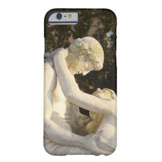 Art nouveau statues love + Joy Barely There iPhone 6 Case