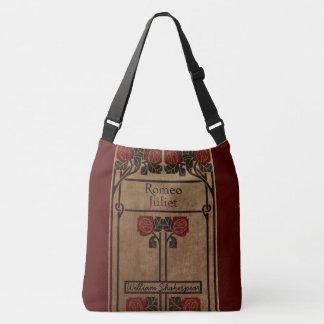 Art Nouveau Style Book Design Crossbody Bag
