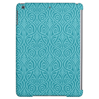 art nouveau, teal,green,art deco, vintage,damask,f