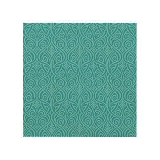 art nouveau, teal,green,art deco, vintage,damask,f