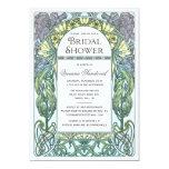 Art Nouveau Vintage Bridal Shower Invitations