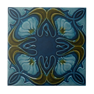 Art Nouveau Vintage Design Feature Backsplash Tile