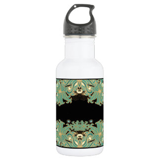 art nouveau,vintage,floral,belle époque,elegant,bl 532 ml water bottle