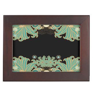 art nouveau,vintage,floral,belle époque,elegant,bl keepsake box
