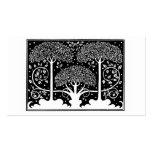 Art Nouveau Vintage Tree Pattern